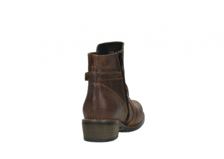 wolky ankle boots 00559 chico 80430 cognac leather_8