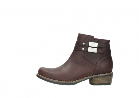 wolky ankle boots 00571 nero 50510 burgundy oiled leather_1