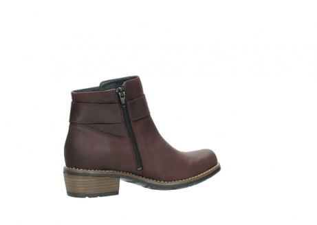 wolky ankle boots 00571 nero 50510 burgundy oiled leather_11