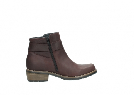 wolky ankle boots 00571 nero 50510 burgundy oiled leather_12