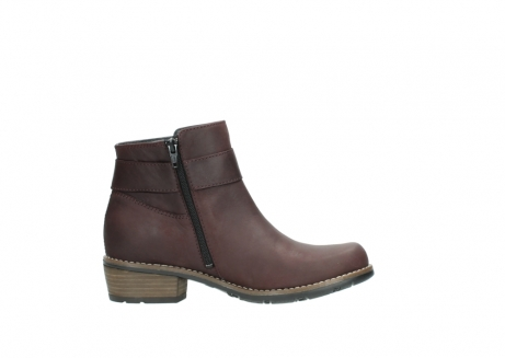 wolky ankle boots 00571 nero 50510 burgundy oiled leather_13