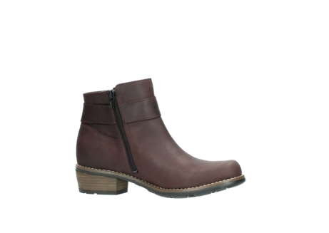 wolky ankle boots 00571 nero 50510 burgundy oiled leather_14