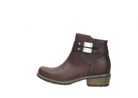 wolky ankle boots 00571 nero 50510 burgundy oiled leather_2