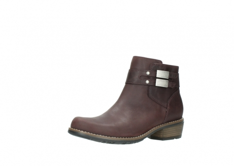 wolky ankle boots 00571 nero 50510 burgundy oiled leather_23
