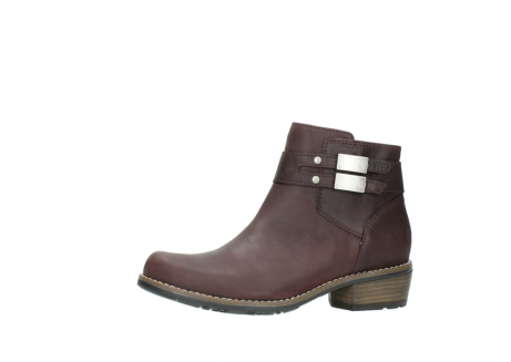 wolky ankle boots 00571 nero 50510 burgundy oiled leather_24