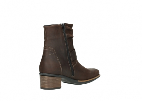 wolky ankle boots 00930 coyote 50300 brown oiled leather_10