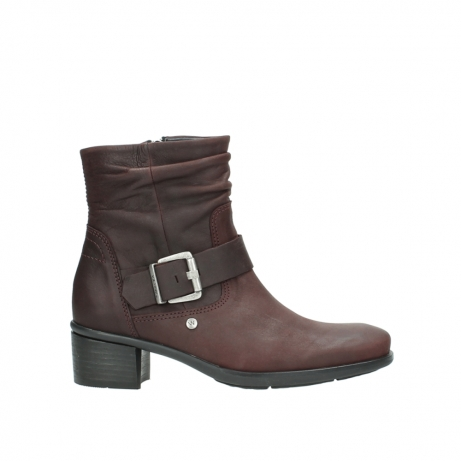 wolky bottines 00930 coyote 50510 cuir bordeaux