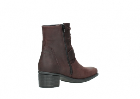 wolky ankle boots 00930 coyote 50510 burgundy oiled leather_10