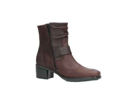 wolky ankle boots 00930 coyote 50510 burgundy oiled leather_15