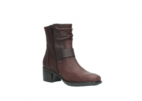 wolky ankle boots 00930 coyote 50510 burgundy oiled leather_16