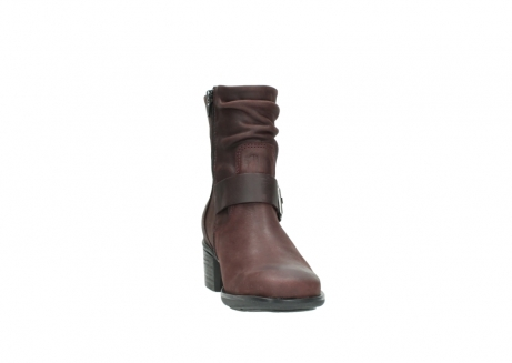 wolky ankle boots 00930 coyote 50510 burgundy oiled leather_18