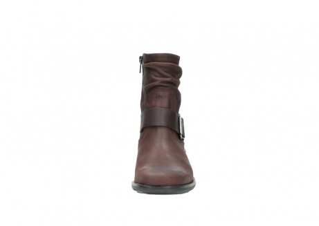 wolky ankle boots 00930 coyote 50510 burgundy oiled leather_19