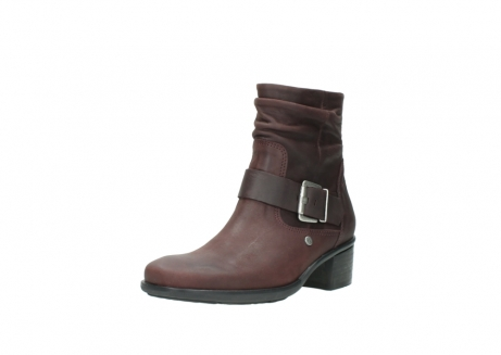 wolky ankle boots 00930 coyote 50510 burgundy oiled leather_22