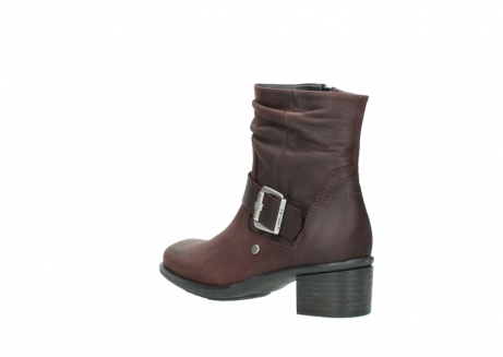 wolky ankle boots 00930 coyote 50510 burgundy oiled leather_4