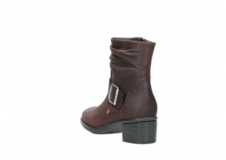 wolky ankle boots 00930 coyote 50510 burgundy oiled leather_5