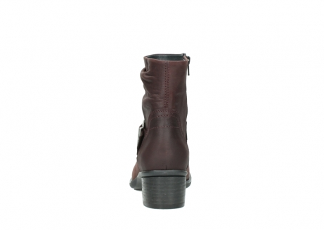 wolky ankle boots 00930 coyote 50510 burgundy oiled leather_7