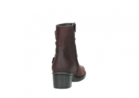 wolky ankle boots 00930 coyote 50510 burgundy oiled leather_8
