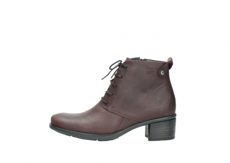 wolky ankle boots 00932 pistol 50510 burgundy oiled leather_1