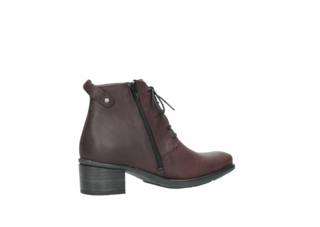 wolky ankle boots 00932 pistol 50510 burgundy oiled leather_11