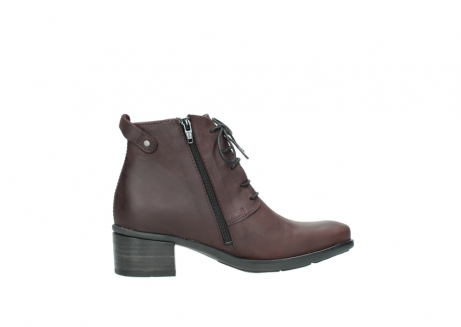 wolky ankle boots 00932 pistol 50510 burgundy oiled leather_12