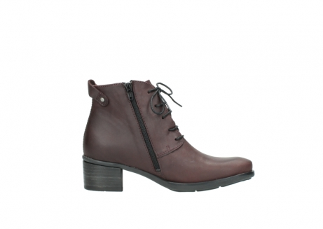 wolky ankle boots 00932 pistol 50510 burgundy oiled leather_13