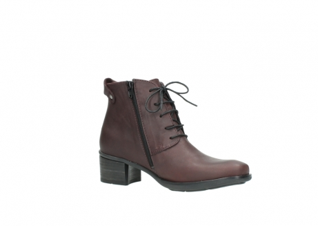 wolky ankle boots 00932 pistol 50510 burgundy oiled leather_15