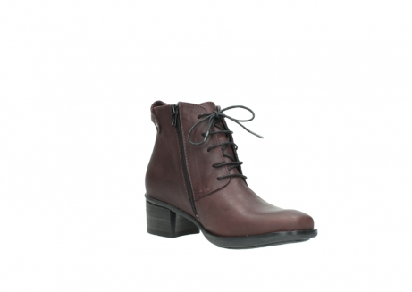 wolky ankle boots 00932 pistol 50510 burgundy oiled leather_16