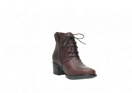 wolky ankle boots 00932 pistol 50510 burgundy oiled leather_17