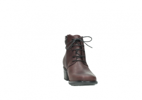 wolky ankle boots 00932 pistol 50510 burgundy oiled leather_18