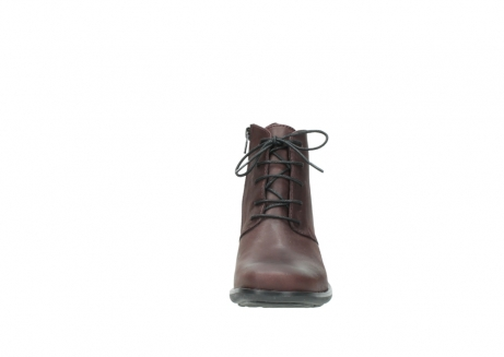 wolky ankle boots 00932 pistol 50510 burgundy oiled leather_19