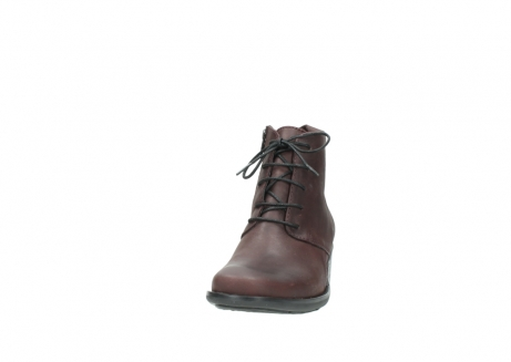 wolky ankle boots 00932 pistol 50510 burgundy oiled leather_20