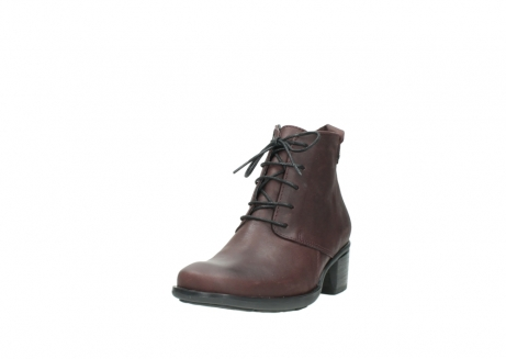 wolky ankle boots 00932 pistol 50510 burgundy oiled leather_21