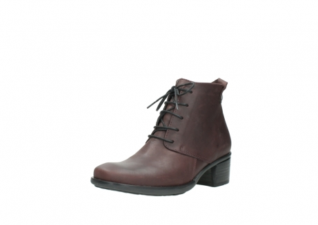 wolky ankle boots 00932 pistol 50510 burgundy oiled leather_22