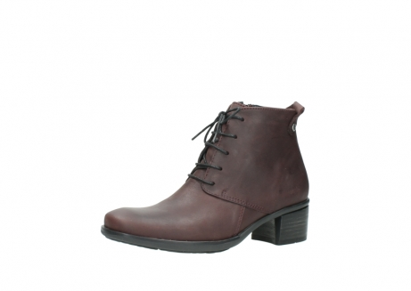 wolky ankle boots 00932 pistol 50510 burgundy oiled leather_23