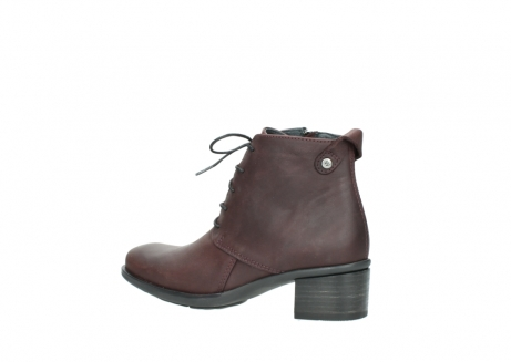 wolky ankle boots 00932 pistol 50510 burgundy oiled leather_3