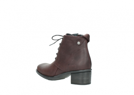 wolky ankle boots 00932 pistol 50510 burgundy oiled leather_4