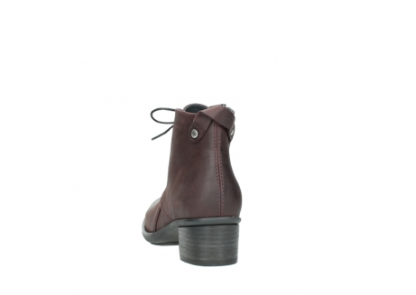 wolky ankle boots 00932 pistol 50510 burgundy oiled leather_6