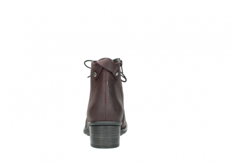 wolky ankle boots 00932 pistol 50510 burgundy oiled leather_7
