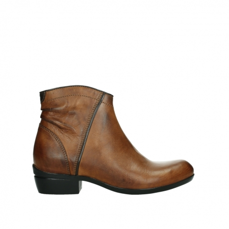 wolky ankle boots 00952 winchester 30430 cognac leather