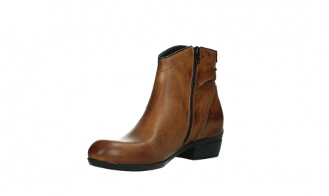 wolky ankle boots 00952 winchester 30430 cognac leather_10