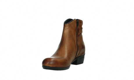 wolky ankle boots 00952 winchester 30430 cognac leather_9