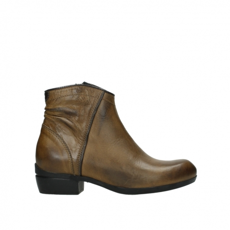 wolky ankle boots 00952 winchester 30920 ocre leather