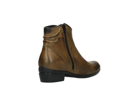 wolky ankle boots 00952 winchester 30920 ocre leather_10