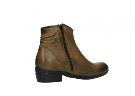 wolky ankle boots 00952 winchester 30920 ocre leather_11