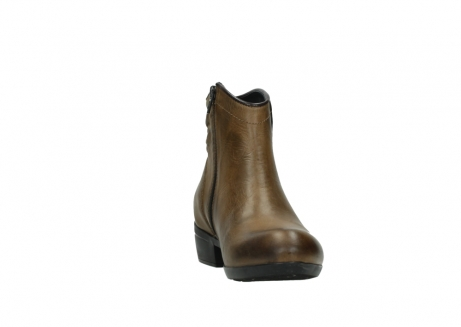 wolky ankle boots 00952 winchester 30920 ocre leather_18