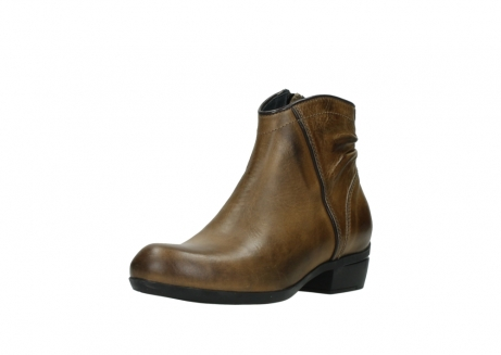 wolky ankle boots 00952 winchester 30920 ocre leather_22