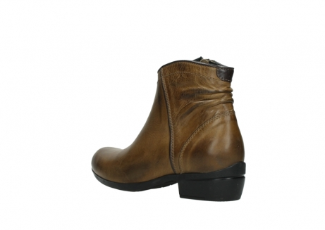wolky ankle boots 00952 winchester 30920 ocre leather_4