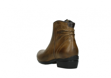 wolky ankle boots 00952 winchester 30920 ocre leather_5