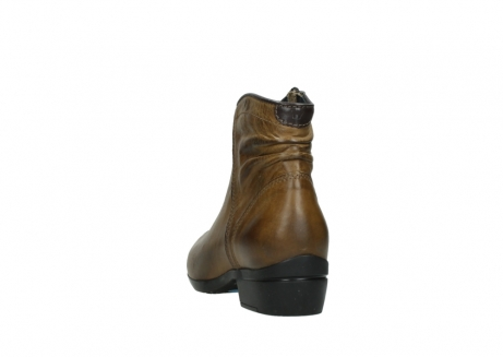wolky ankle boots 00952 winchester 30920 ocre leather_6