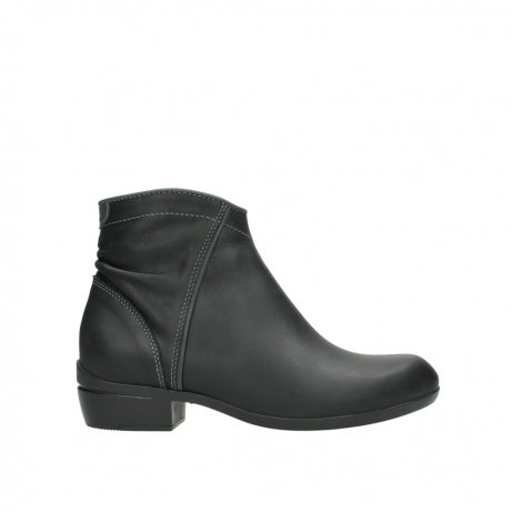 wolky ankle boots 00952 winchester 50002 black leather